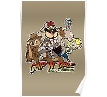 Chip N Dale Last Crusaders Poster