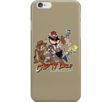 Chip N Dale Last Crusaders iPhone Case/Skin