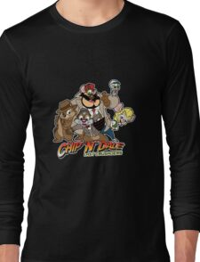 Chip N Dale Last Crusaders Long Sleeve T-Shirt