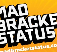 Mad Bracket Burst Sticker