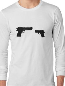Snatch : Replica vs Desert Eagle .50 Long Sleeve T-Shirt