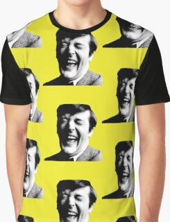 Stephen Fry Happy Graphic T-Shirt