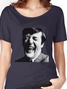 Stephen Fry Happy Women's Relaxed Fit T-Shirt