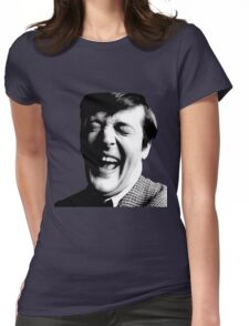 Stephen Fry Happy Womens Fitted T-Shirt