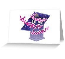 VWORP! Greeting Card