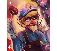 Waluigi - Portrait Painting Photographic Print