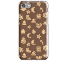 Christmas cookies iPhone Case/Skin