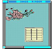 image window jap Photographic Print