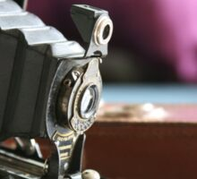 Kodak moments ....vintage Folding Autographic Brownie  Sticker