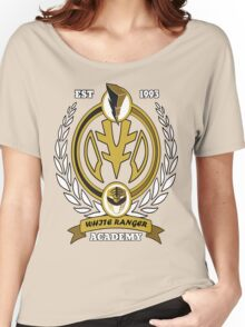 White Ranger Academy Women's Relaxed Fit T-Shirt