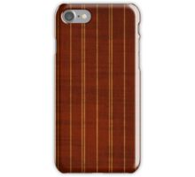 Red & Gold Stripes iPhone Case/Skin