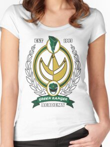 Green Ranger Academy Women's Fitted Scoop T-Shirt