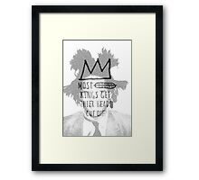 king of the art Framed Print