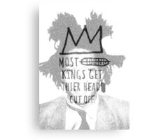 king of the art Canvas Print