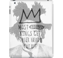 king of the art iPad Case/Skin