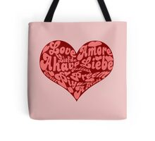 Love languages Heart for Valentine's day  Tote Bag