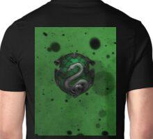 Green Ink Blots Unisex T-Shirt