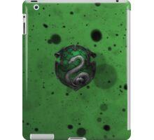 Green Ink Blots iPad Case/Skin