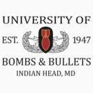 University of Bombs & Bullets Indian Head by jcmeyer