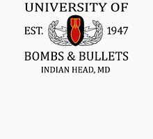University of Bombs & Bullets Indian Head Unisex T-Shirt