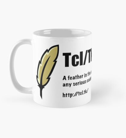 Tcl/Tk - Feather in the cap - Coder Mug