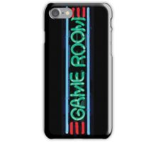 Neon Sign - Game Room iPhone Case/Skin