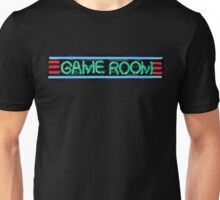 Neon Sign - Game Room Unisex T-Shirt