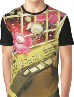 observe what's out there, Vintage Collage Graphic T-Shirt