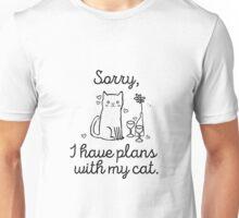 Cat plans  Unisex T-Shirt