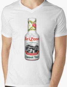 ARIZONA ICED TEA WHITE Mens V-Neck T-Shirt