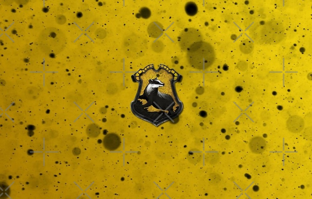 Yellow Ink Blots by Serdd