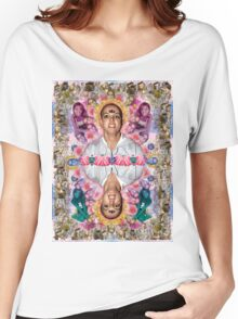 The Ascension of Britney to Punk Goddesshood Women's Relaxed Fit T-Shirt