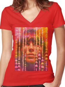 Melody's Echo Chamber Women's Fitted V-Neck T-Shirt