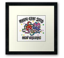 2016 Mardi Gras New Orleans 2016 NOLA Framed Print