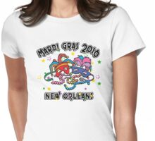 2016 Mardi Gras New Orleans 2016 NOLA Womens Fitted T-Shirt