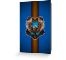 Bronze Eagle Greeting Card