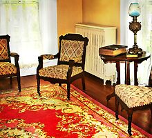 Red Carpet in a Parlor by Nadya Johnson