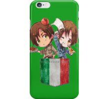 North and South Italy Pocket Chibi iPhone Case/Skin