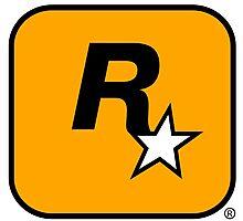 Rockstar logo HQ Photographic Print