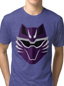 Jungle Fury Wolf Ranger/GekiViolet Tri-blend T-Shirt