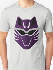 Jungle Fury Wolf Ranger/GekiViolet Unisex T-Shirt