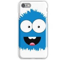 Funny cartoon blue monster iPhone Case/Skin