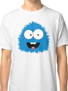 Funny cartoon blue monster Classic T-Shirt