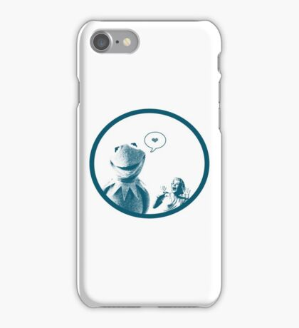 Kermit in Love iPhone Case/Skin