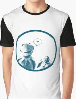 Kermit in Love Graphic T-Shirt