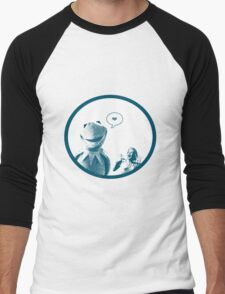 Kermit in Love Men's Baseball ¾ T-Shirt