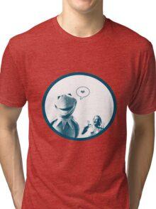 Kermit in Love Tri-blend T-Shirt