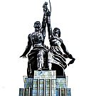 Worker and Kolkhoz Woman (Moscow 2013) - Clean by Zohar Manor-Abel