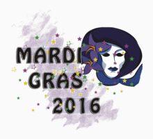2016 Mardi Gras New Orleans 2016 NOLA One Piece - Short Sleeve