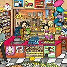 Mr Nakamura's Store by Laura Hutton